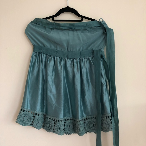dcd1e9bfa1 NWT  695 Missoni Silk Strapless Blouse Top